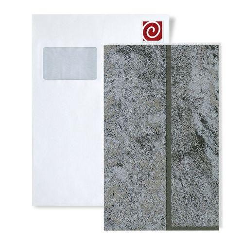 Staal behang ATLAS 5061-series | Steen tegel behang in steen look en metalen accenten – Bild 2