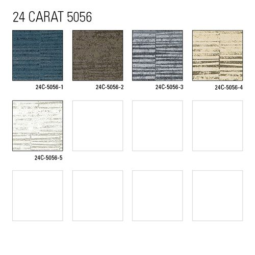 Échantillon de papier peint ATLAS 5056-series | Papier peint à rayures avec un dessin graphique et des accents métalliques – Bild 6