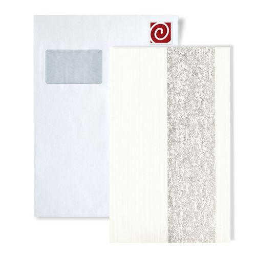 Échantillon de papier peint ATLAS 5059-series | Papier peint à rayures avec un dessin graphique et des accents métalliques – Bild 6