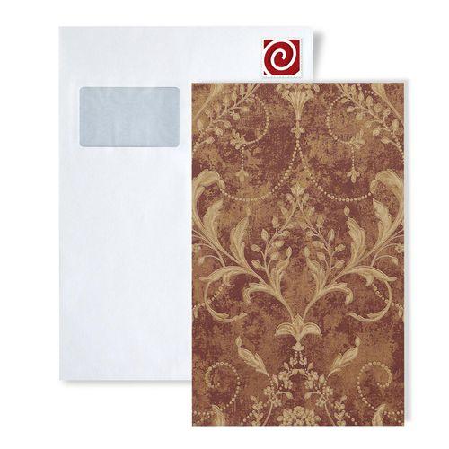 Staal behang ATLAS 5084-series | Barok behang met bloemmotief en metalen accenten – Bild 2