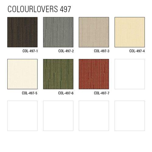 Staal behang ATLAS 497-series | Uni kleuren behang met strepen glanzend – Bild 8