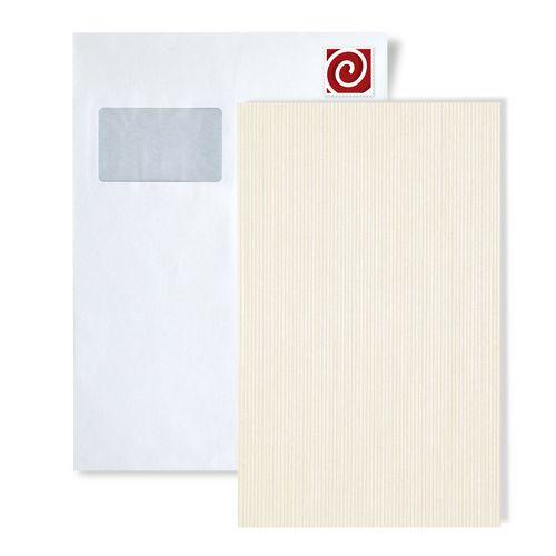 Échantillon de papier peint ATLAS 558-series | Papier peint à rayures avec une texture tangible satiné – Bild 2