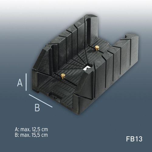 Accessorio Orac Decor FB13 Caja de ingletes con muchos ángulos Tam. max. de procesamiento: alt: 12,5 cm x anch: 15,5 cm – Imagen 1