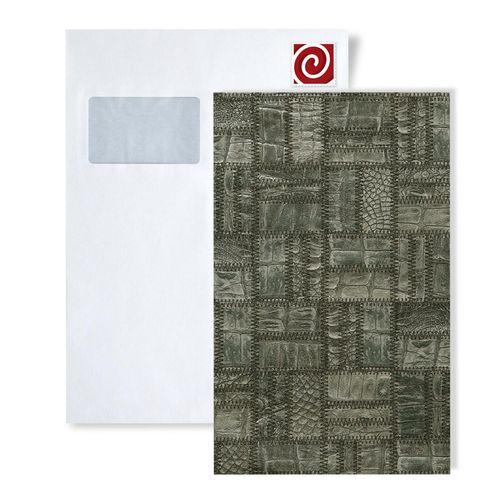 Staal behang ATLAS 5101-series | Reliëf behang in leer optiek glanzend – Bild 5