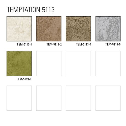 Tapeten MUSTER ATLAS 5113-Serie | Uni Tapete in Spachteloptik und metallischen Akzenten – Bild 4