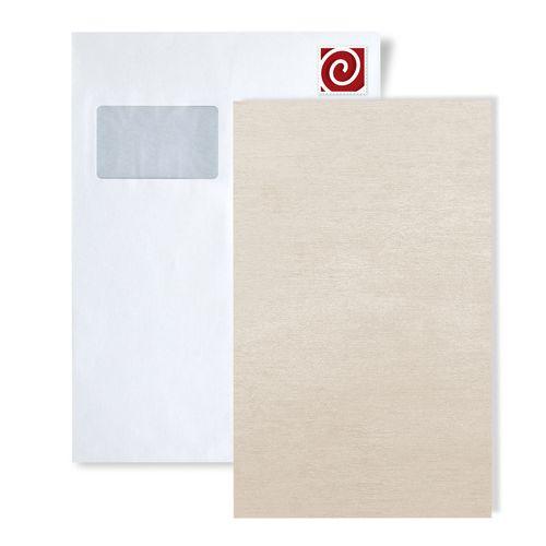 Campione di carta da parati ATLAS 5114-series | Carta da parati a tinta unita in stile shabby chic scintillante – Bild 1