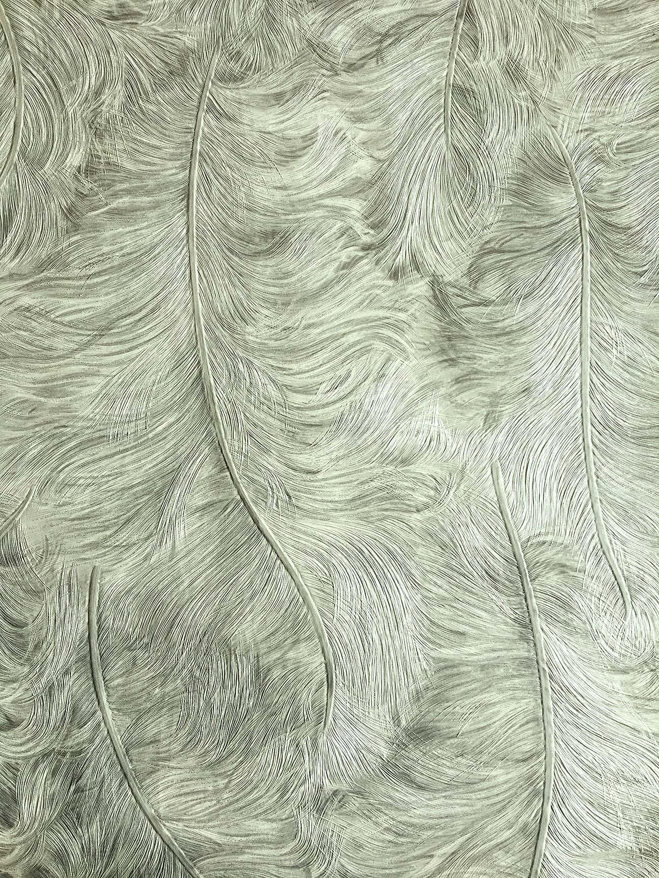 Empapelado de lujo exclusivo profhome 822201 papel pintado vin lico gofrado con plumas brillante - Papel pintado vinilico ...