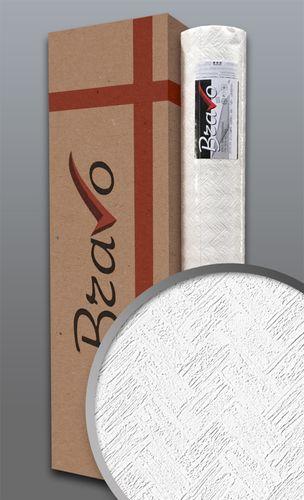 Struktur-Tapete EDEM 83103BR70 Überstreichbare Vliestapete Fischgrätenmuster Riemchen Ziegel weiß | 4 Rollen 106 m2 – Bild 1