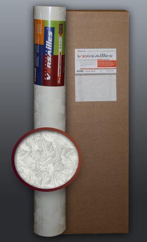 EDEM 322-60 1 Kart 5 Rollen überstreichbare Vliestapete kreative Wandgestaltung weiß | 132 qm – Bild 1