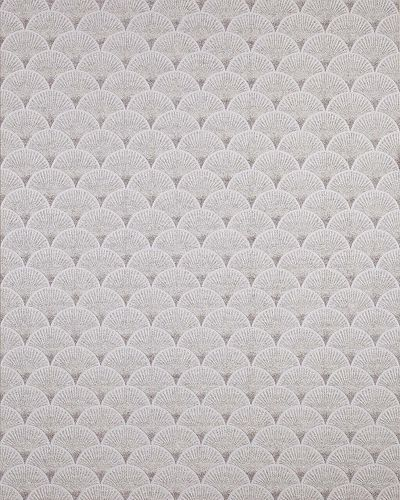 Retro Tapete EDEM 1031-10 Vinyltapete geprägt mit grafischem Muster glitzernd weiß grau 5,33 m2 – Bild 1