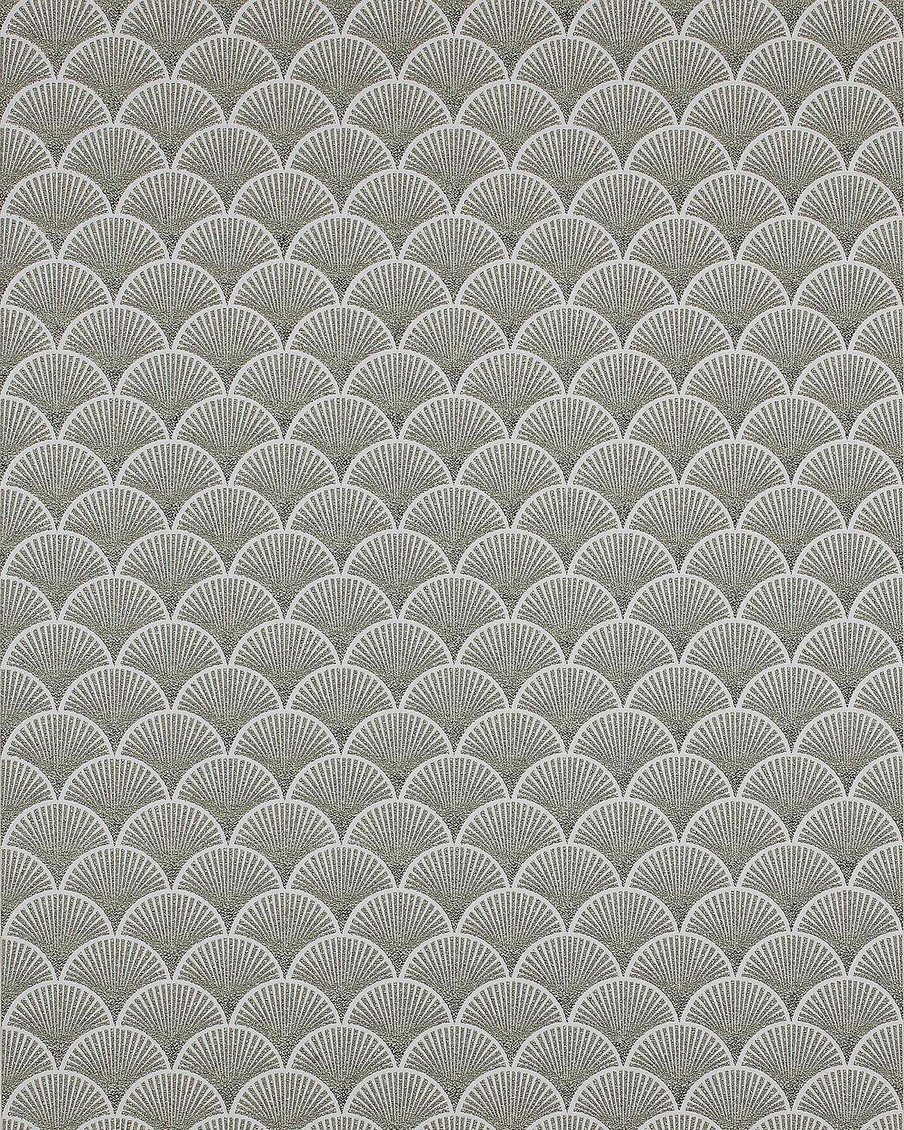edem 1031 15 retro tapete grafisch glitzernd creme gr n wei 5 33 m2 ebay. Black Bedroom Furniture Sets. Home Design Ideas