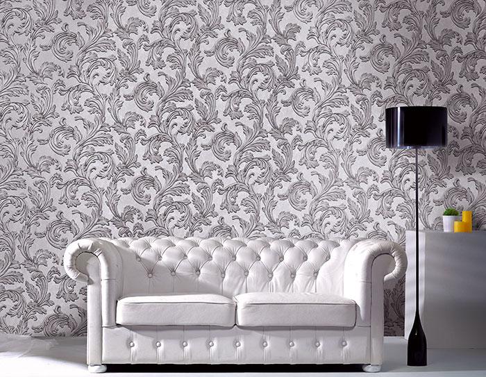 barock tapete edem 1032 11 vinyltapete glatt mit. Black Bedroom Furniture Sets. Home Design Ideas