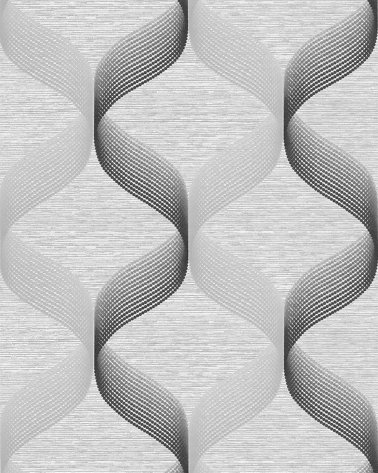 papier peint r tro edem 1034 10 papier peint vinyle textur avec un dessin graphique scintillant. Black Bedroom Furniture Sets. Home Design Ideas