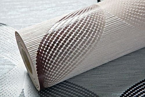 Retro Tapete EDEM 1034-14 Vinyltapete strukturiert mit grafischem Muster glitzernd creme beige braun 5,33 m2 – Bild 2
