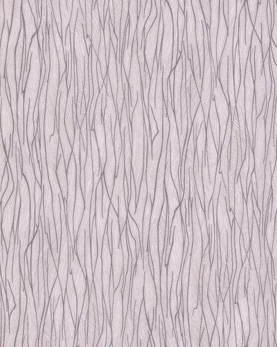 Stripes wallpaper wall EDEM 122-23 vinyl wallcovering embossed Ton-sur-ton and metallic highlights cream gray beige 5.33 m2 (57 ft2) – Bild 1