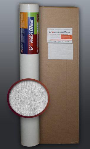 EDEM 374-60 Papel pintado blanco no tejido para pintar encima con textura decorativa de lino | 5 rollos para 132 m2 – Imagen 1