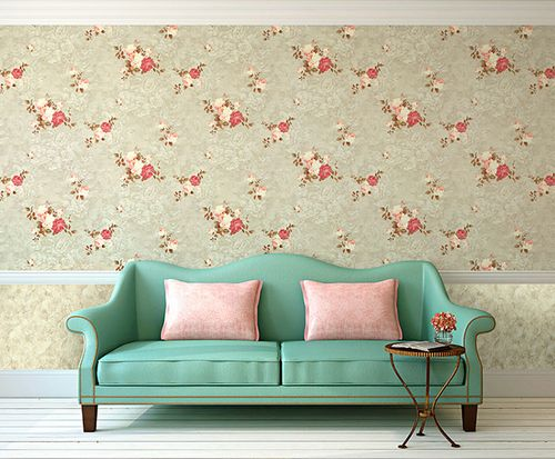 Flowers wallcovering wall EDEM 9045-29 non-woven wallcovering embossed romantic design matt pink fuchsia white 10.65 m2 (114 ft2) – Bild 5