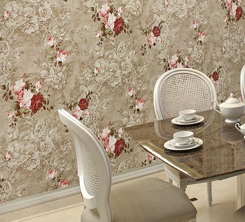 Flowers wallcovering wall EDEM 9045-29 non-woven wallcovering embossed romantic design matt pink fuchsia white 10.65 m2 (114 ft2) – Bild 3
