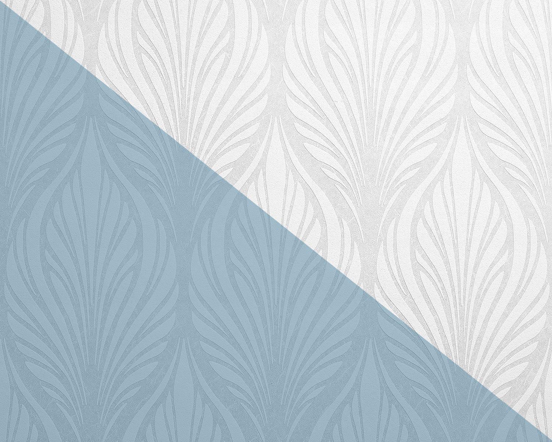 Edem 83003br60 Papier Peint Intisse A Peindre Baroque Mat Blanc 26