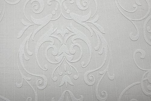 Barock Tapete EDEM 83004BR60 Vliestapete zum Überstreichen strukturiert mit Ornamenten matt weiß 26,50 m2 – Bild 4