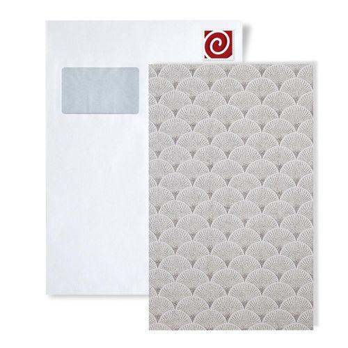 Échantillon de papier peint EDEM 1031-series | Papier peint rétro avec un dessin graphique scintillant – Bild 1