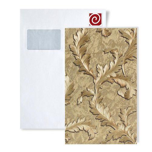 Staal behang EDEM 9010-series | Bloemen behang in barok stijl glimmend – Bild 1