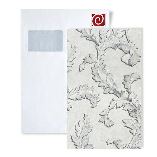 Staal behang EDEM 9010-series | Bloemen behang in barok stijl glimmend – Bild 4