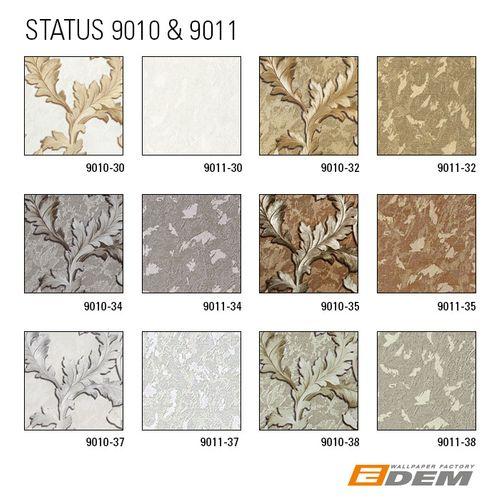 Tapeten Muster EDEM 9011-Serie | Uni Tapete in Spachteloptik glänzend – Bild 7
