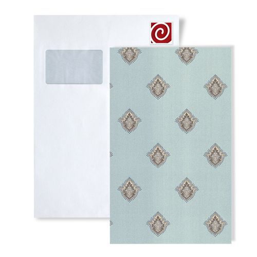Tapeten Muster EDEM 9043-Serie | Barock Tapete mit Ornamenten glänzend – Bild 2