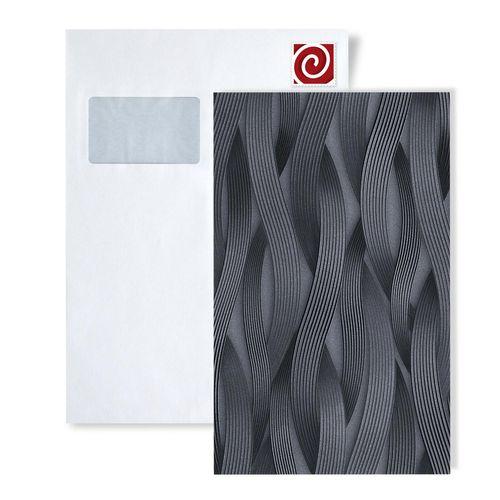 Campione di carta da parati EDEM 81130-series | Carta da parati a righe tono su tono ed accenti metallici – Bild 3