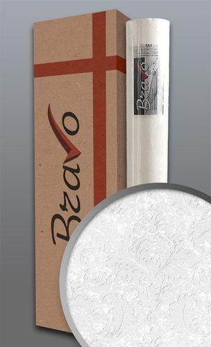 Empapelado estilo country EDEM 83006BR60 papel pintado no tejido para pintar texturado con ornamentos mate blanco 1 caja 4 rollos 106 m2