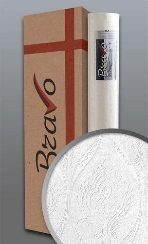 Barok behang EDEM 83007BR60 overschilderbaar vliesbehang gestructureerd met ornamenten mat wit 1 doos 4 rollen 106 m2 – Bild 1