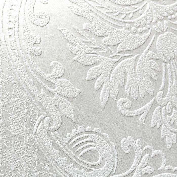 barock tapete edem 83008br60 vliestapete zum berstreichen strukturiert mit ornamenten matt wei. Black Bedroom Furniture Sets. Home Design Ideas