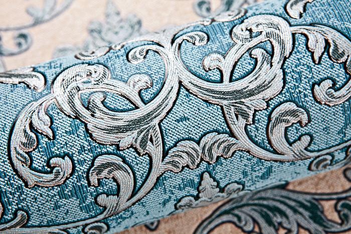barock tapete edem 6001 95 vliestapete gepr gt mit ornamenten glitzernd t rkis silber petrol 10. Black Bedroom Furniture Sets. Home Design Ideas