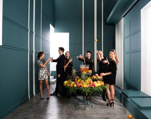 Türumrandung Orac Decor DX184-2300 AXXENT CASCADE Sockelleiste Wandleiste Modernes Design weiß 2,3m – Bild 2