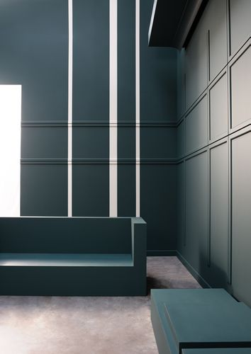 Türumrandung Orac Decor DX184-2300 AXXENT CASCADE Sockelleiste Wandleiste Modernes Design weiß 2,3m – Bild 3