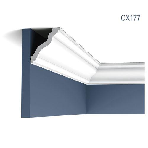 Eckleiste Orac Decor CX177 AXXENT Stuckleiste Zierleiste Zeitloses Klassisches Design weiß 2m – Bild 1