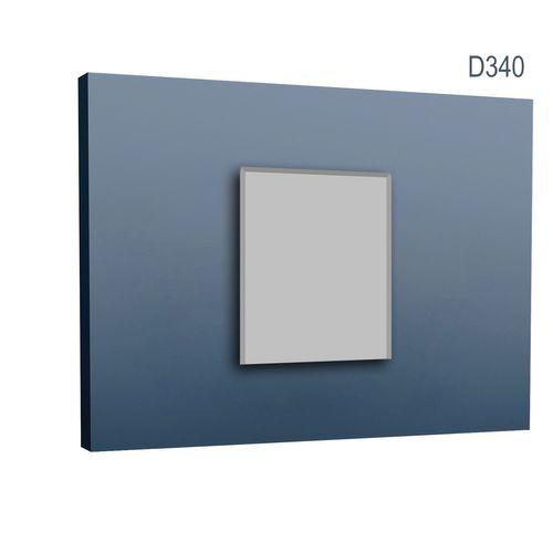 Türumrandung Orac Decor D340 AXXENT Sockelleiste Wandleiste Zeitloses Klassisches Design weiß 2m – Bild 1