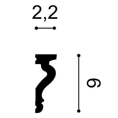 Flexible Leisten DX174F FLEX 2m – Bild 2