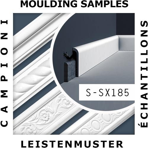 1 PIEZA DE MUESTRA S-SX167 Orac Decor Ulf Moritz | MUESTRA Zócalo Moldura decorativa Longitud aprox 10 cm – Imagen 2