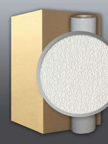 Vinyl wallcovering wallpaper wall white EDEM 206-40 deco textured blown 1 carton 9 rolls  – Bild 1
