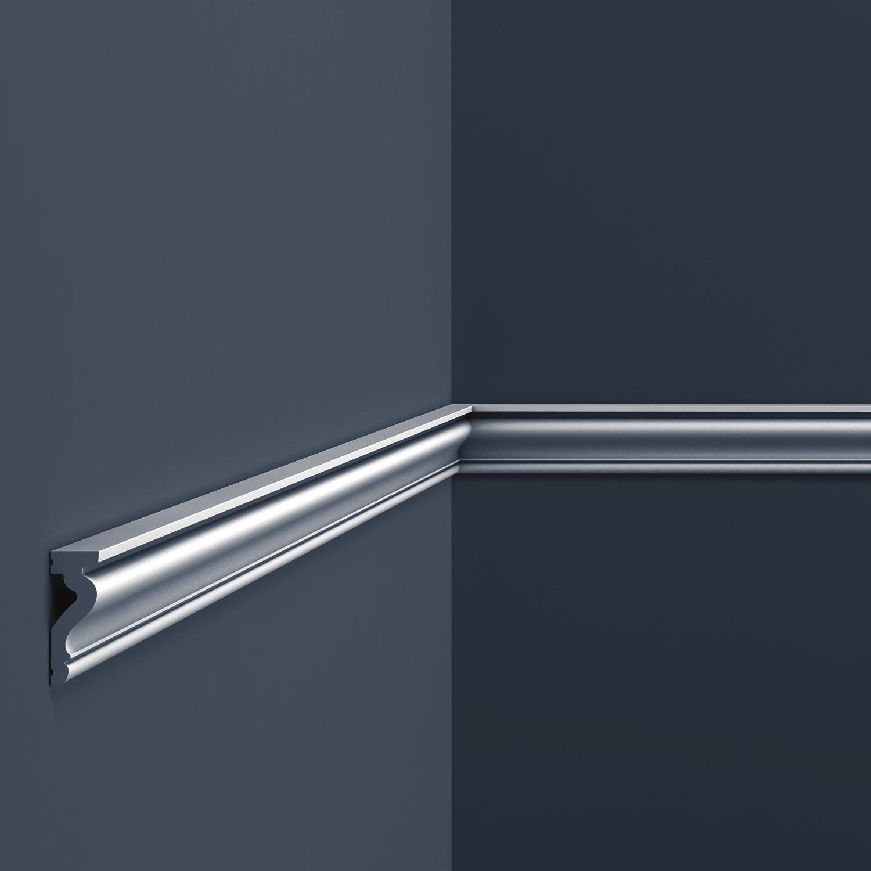 10 cm 1 /ÉCHANTILLON S-DX174-2300 Orac Decor LUXXUS /Échantillon Encadrement de porte Moulure multifonctionnelle Longueur env