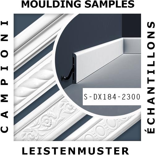 MUSTER Wandleiste Musterstück S-DX184-2300 – Bild 2