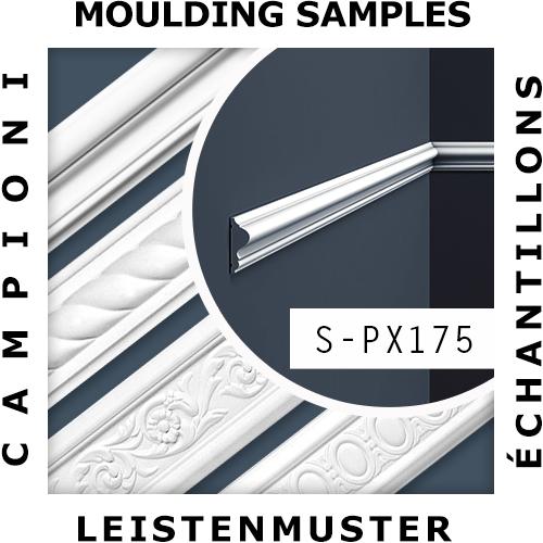 1 CAMPIONE S-PX175 Orac Decor AXXENT | CAMPIONE di modanatura Cornice parete Lunghezza circa 10 cm – Bild 2
