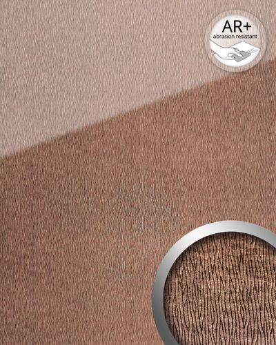 Wandverkleidung 20216 CURVED Rose AR+ Glas-Optik rosa – Bild 2