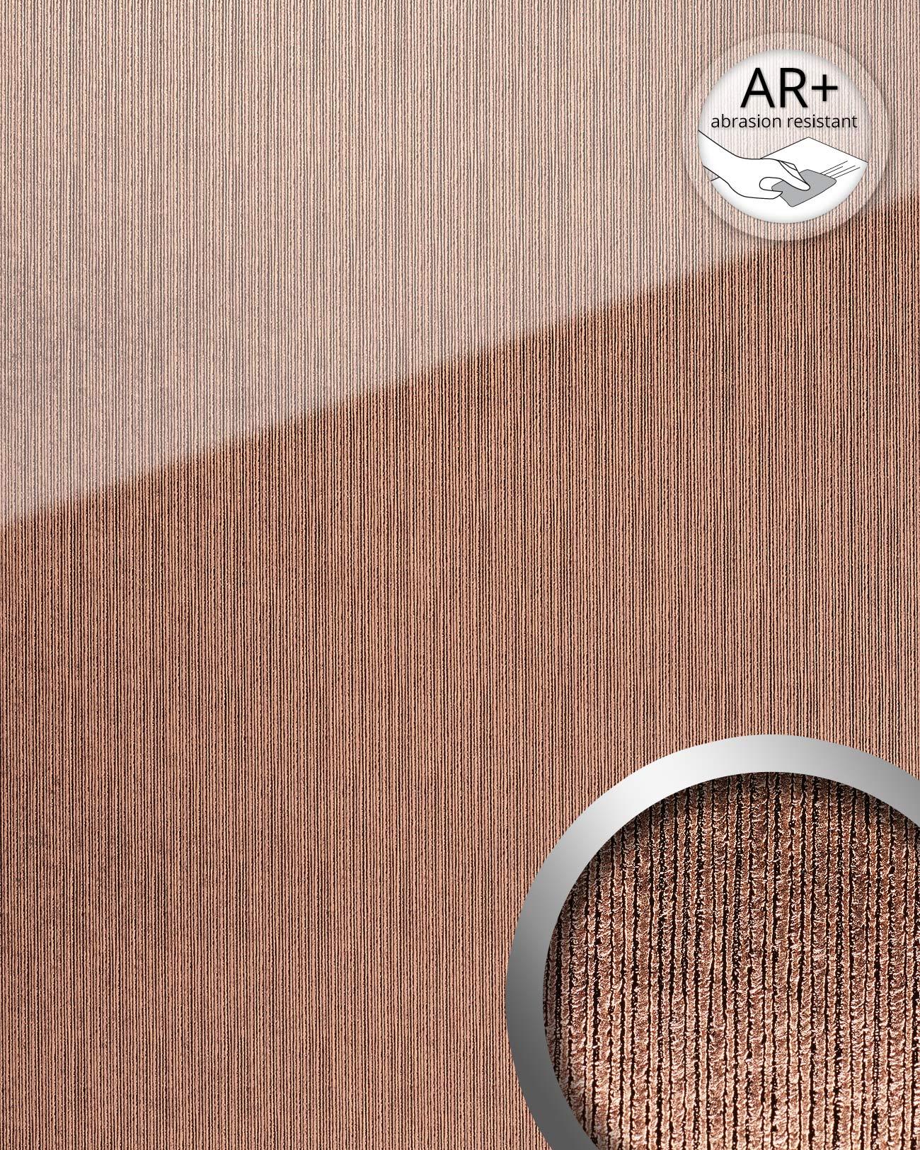 wandpaneel glas optik wallface 20217 aligned rose ar wandverkleidung glatt in hochglanz optik. Black Bedroom Furniture Sets. Home Design Ideas