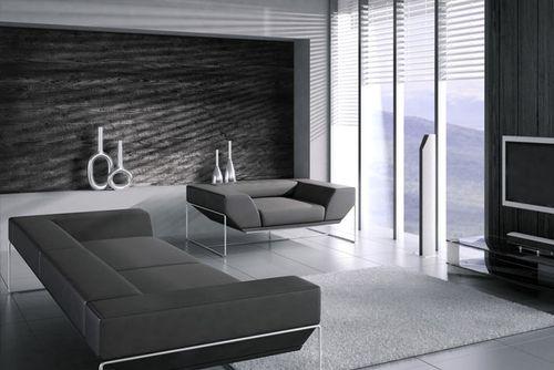 Wandpaneel Holz-Optik WallFace 20224 CARBONIZED WOOD Wandverkleidung glatt im Used Look matt selbstklebend abriebfest grau anthrazit-grau 2,6 m2 – Bild 3