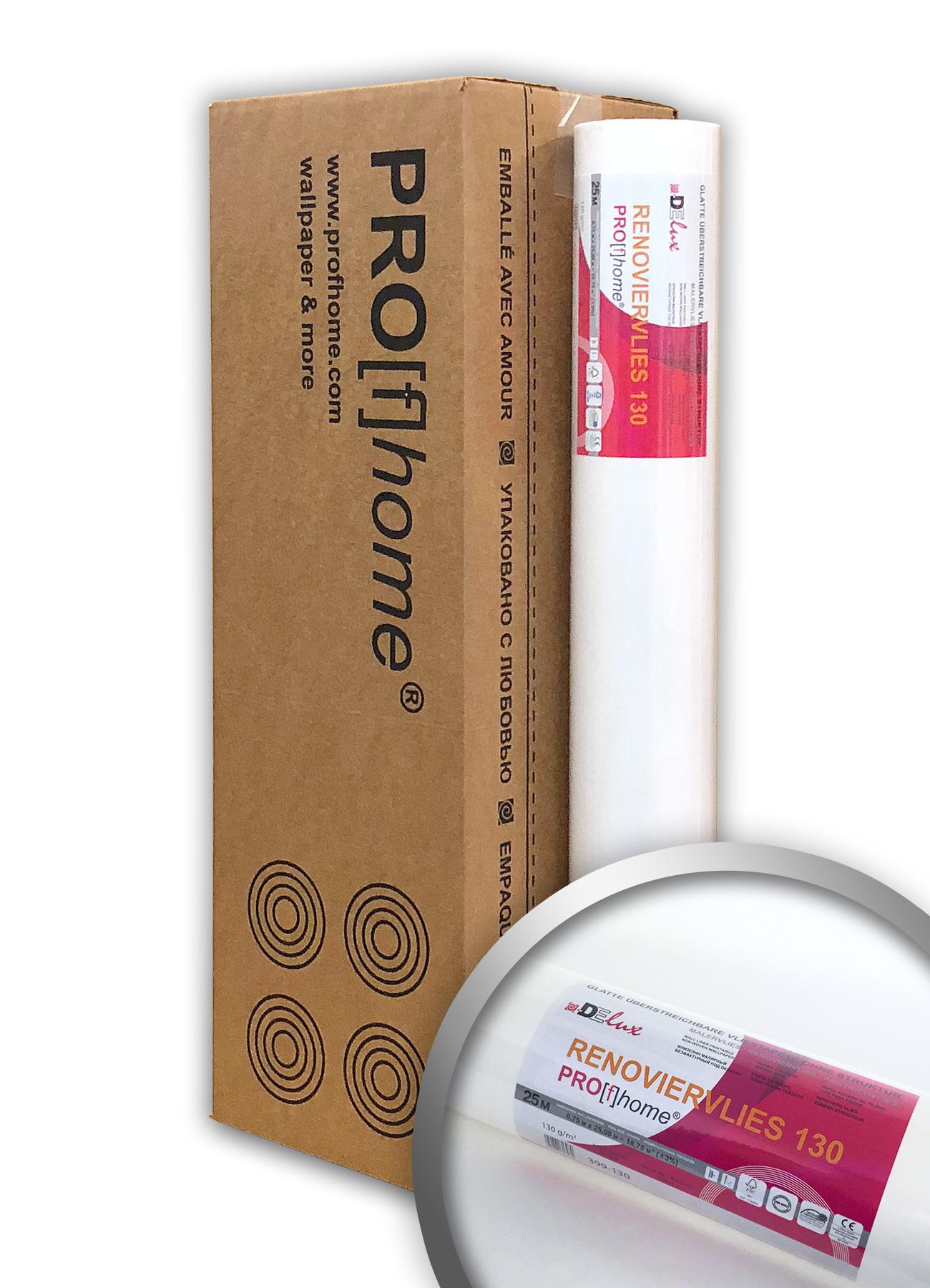 Revêtement Intissé à Peindre 130 G Profhome 399 130 Fibre De Rénovation  Lisse | 4