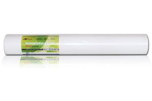 Profhome Renoviervlies 150 g Malervlies Vlies glatte überstreichbare reißfeste Vliestapete weiß | 1 Kart. 4 Rollen 75 qm – Bild 3