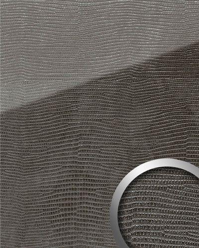 Wandpaneel 18095 LEGUAN Nero AR+ Glas-Optik schwarz – Bild 1